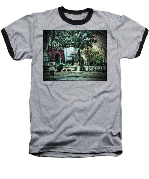 Boy Lost In Time Baseball T-Shirt