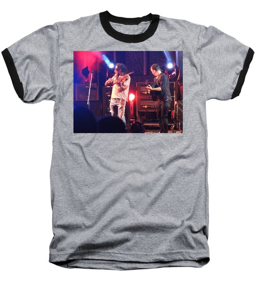 Baseball T-Shirt featuring the photograph Boyd And Dave by Aaron Martens