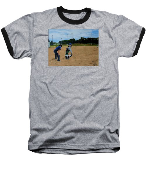 Boys Of Summer Baseball T-Shirt by Raymond Perez