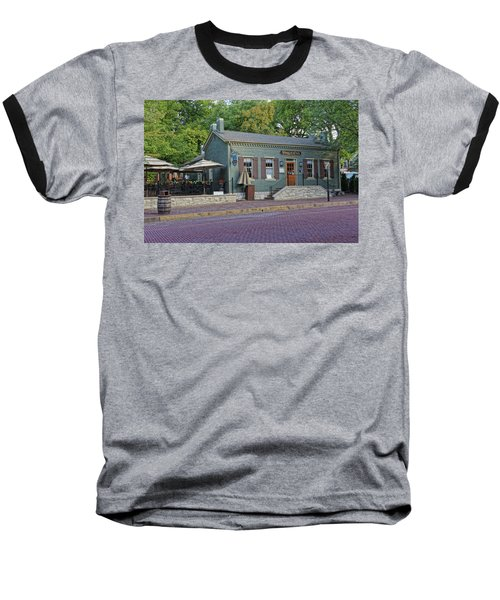 Braddens Main Street St Charles Mo Dsc00874  Baseball T-Shirt by Greg Kluempers