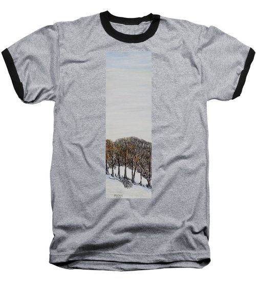 Baseball T-Shirt featuring the painting Branch Broken by Marilyn  McNish