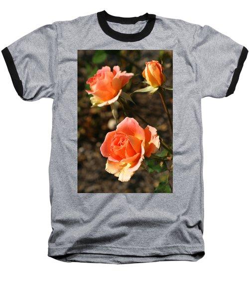 Brass Band Roses In Autumn Baseball T-Shirt