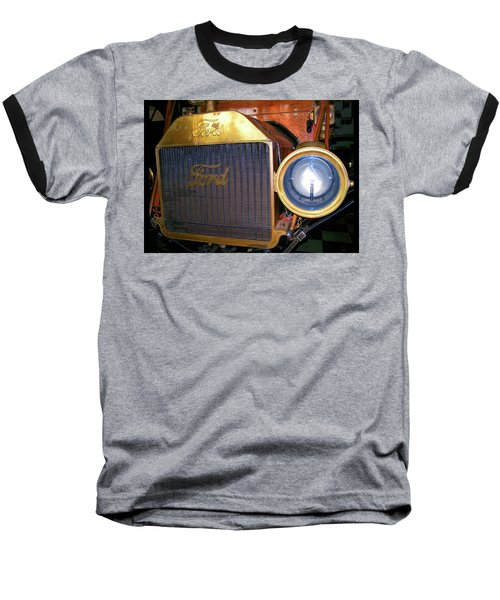 Baseball T-Shirt featuring the photograph Brass Eye by Larry Bishop