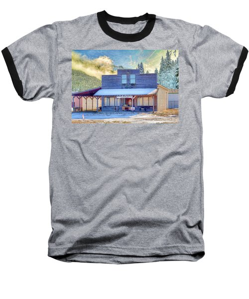 Baseball T-Shirt featuring the photograph Brauer Real Estate Linwood Kansas by Liane Wright