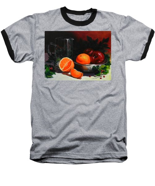 Breakfast Fruits Baseball T-Shirt