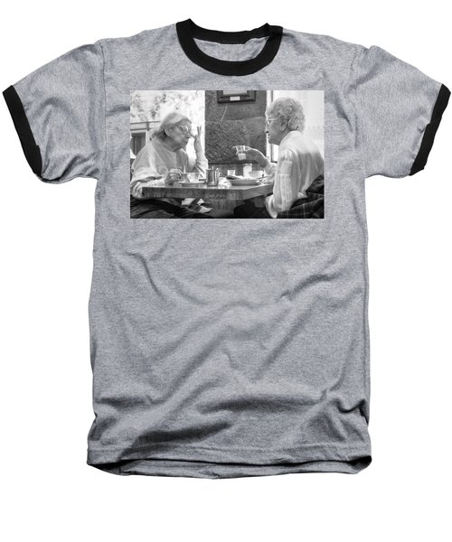Breakfast Ladies Baseball T-Shirt