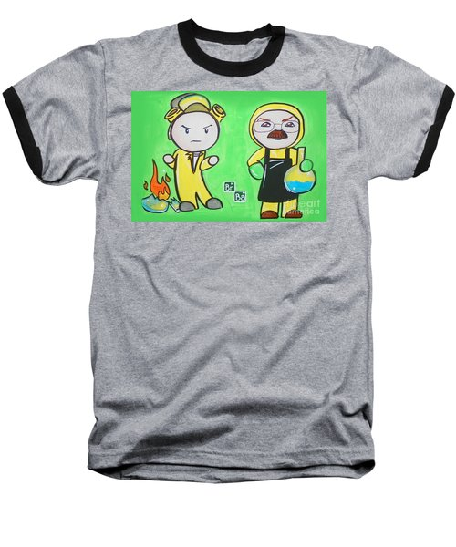 Breaking Bad Broken Baseball T-Shirt by Marisela Mungia