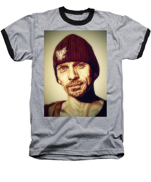 Breaking Bad Skinny Pete Baseball T-Shirt by Fred Larucci
