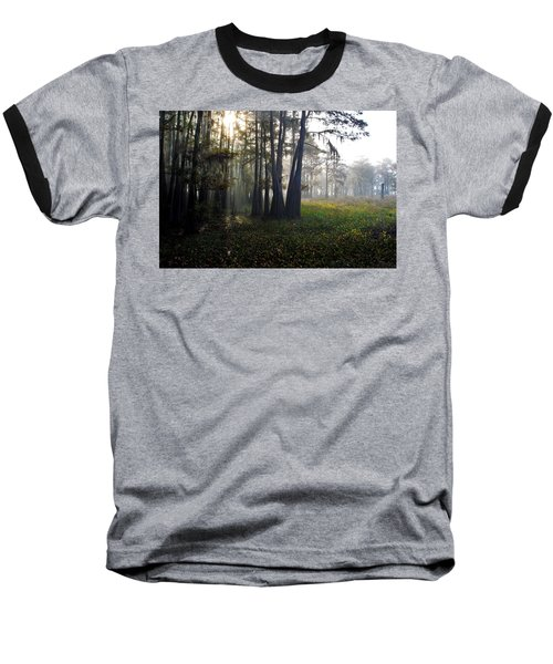 Breaking Through Morning Fog Baseball T-Shirt