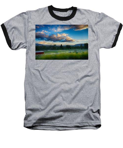 Breathtaking Colorado Sunset 1 Baseball T-Shirt