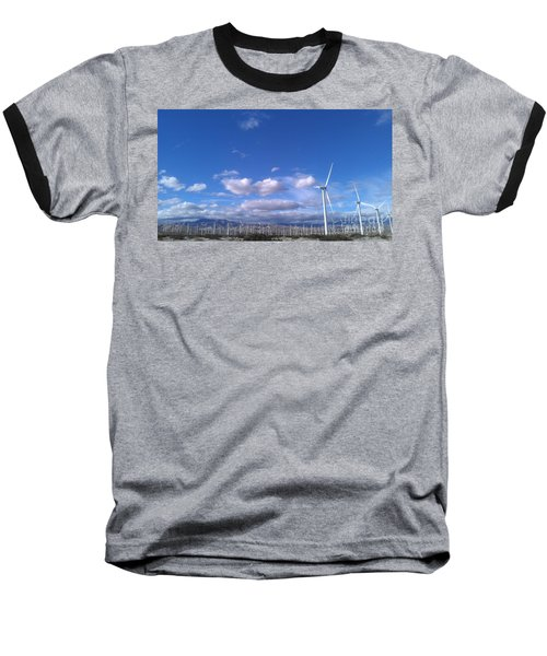 Breeze Baseball T-Shirt by Chris Tarpening