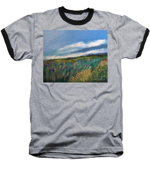Breezy Day At Mauna Kea Baseball T-Shirt