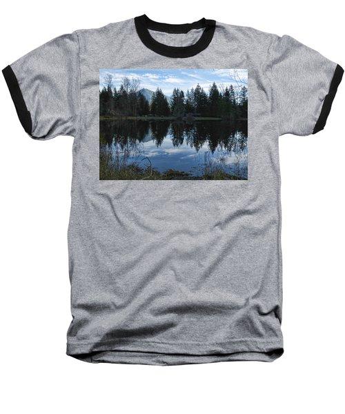 Brewster Lake North Bend Wa Baseball T-Shirt