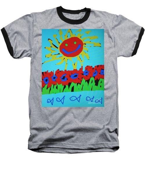 Brians Art Baseball T-Shirt