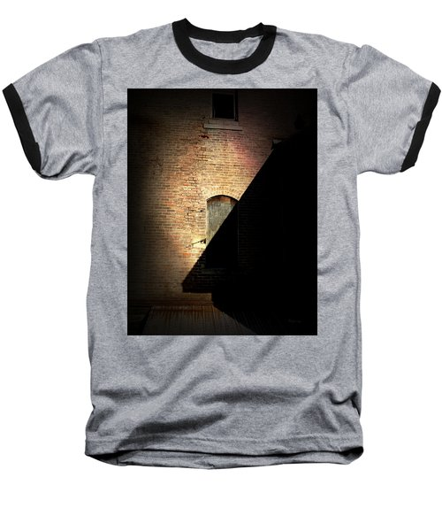 Brick And Shadow Baseball T-Shirt