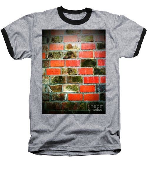 Brick Wall Baseball T-Shirt