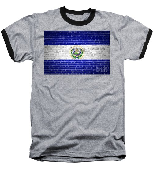Brick Wall El Salvador Baseball T-Shirt