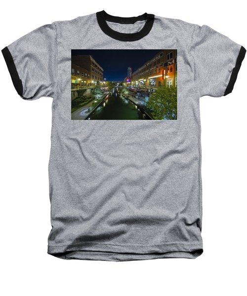 Bricktown Canal Baseball T-Shirt