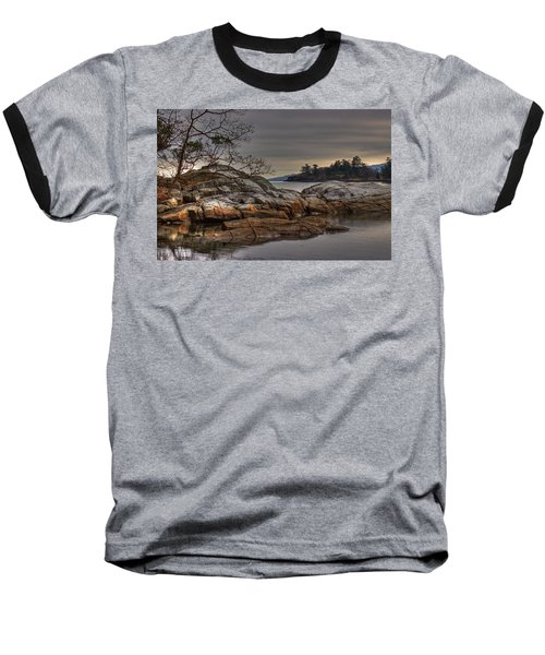 Tranquil Waters Baseball T-Shirt