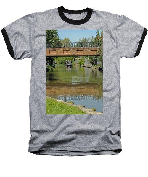 Bridge 238b Oxford Canal Baseball T-Shirt