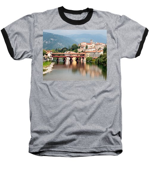 Bridge At Bassano Del Grappa Baseball T-Shirt by William Beuther