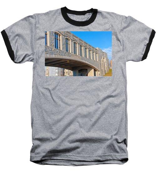 Bridge At Virginia Tech Baseball T-Shirt by Melinda Fawver