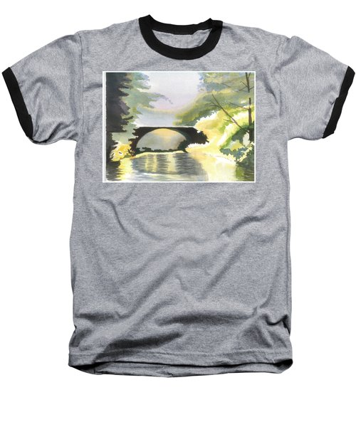 Bridge In Shadows Baseball T-Shirt