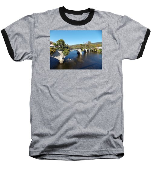 Bridge Of Flowers Baseball T-Shirt