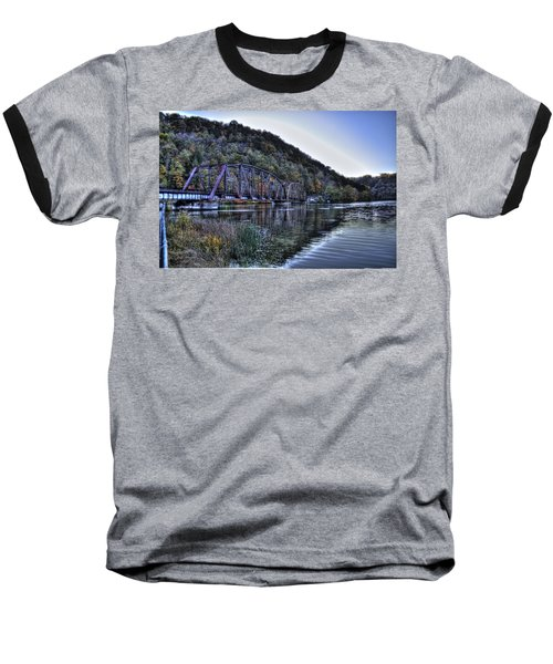 Bridge On A Lake Baseball T-Shirt