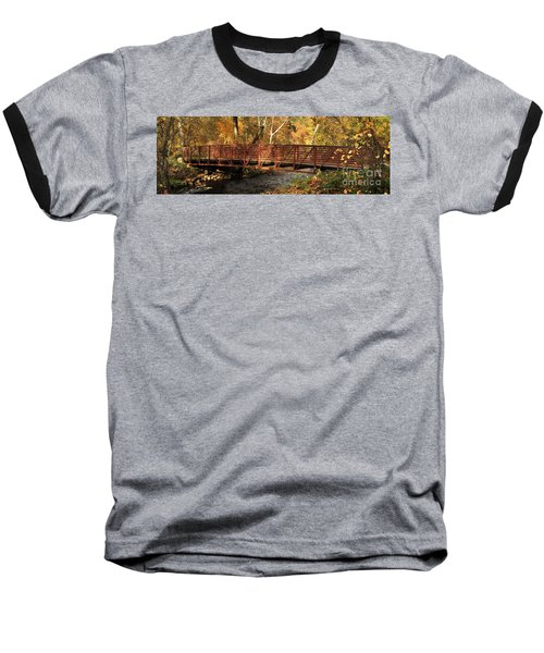 Bridge On Big Chico Creek Baseball T-Shirt