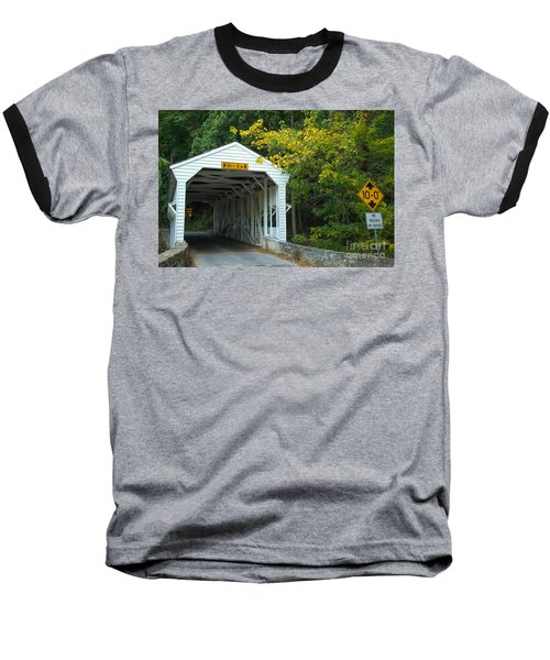 Baseball T-Shirt featuring the photograph Bridge On Route 252 In Valley Forge by Rima Biswas