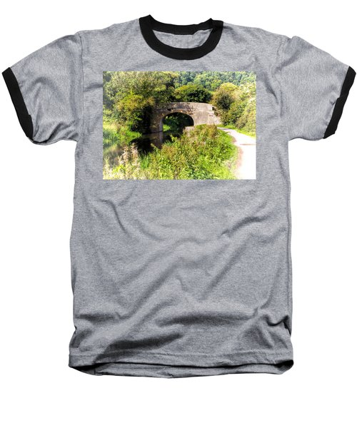 Bridge Over Still Waters Baseball T-Shirt