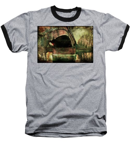 Bridge Over The Canal Baseball T-Shirt