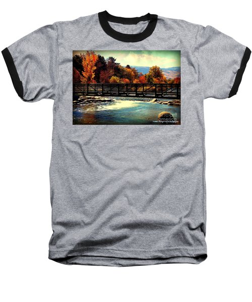 Bridge Over The Truckee River Baseball T-Shirt