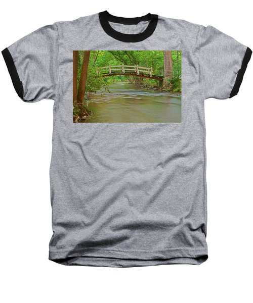 Bridge Over Valley Creek Baseball T-Shirt by Michael Porchik