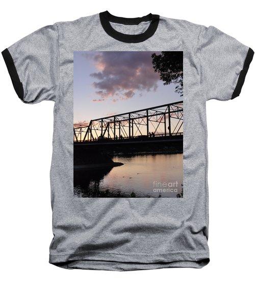 Bridge Scenes August - 1 Baseball T-Shirt