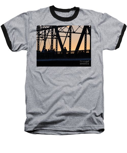 Bridge Scenes August - 2 Baseball T-Shirt
