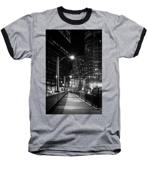 Long Walk Home Baseball T-Shirt by Melinda Ledsome