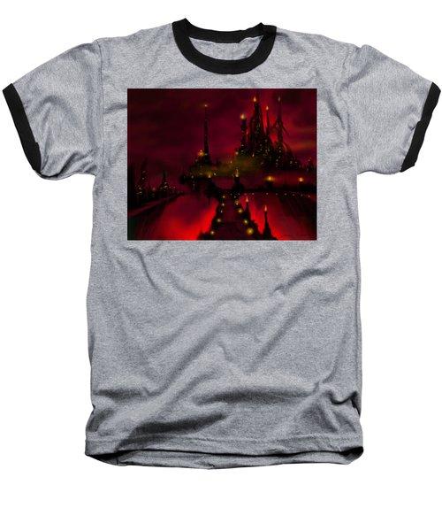 Bridge To Red Castle Baseball T-Shirt