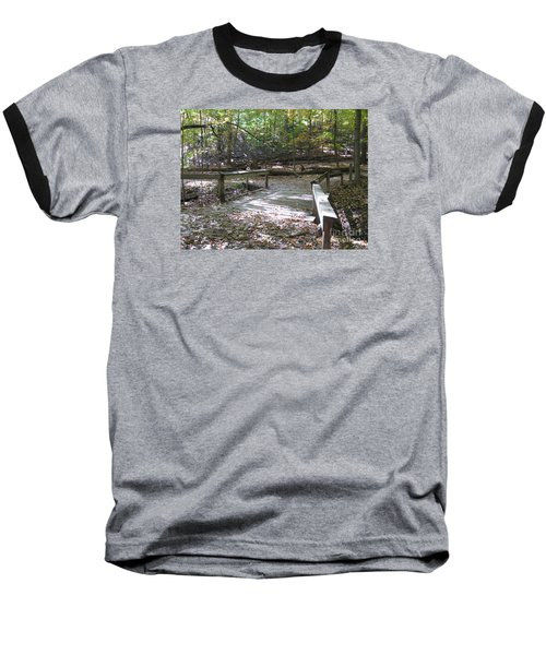 Bridge To The Forest Deep Baseball T-Shirt