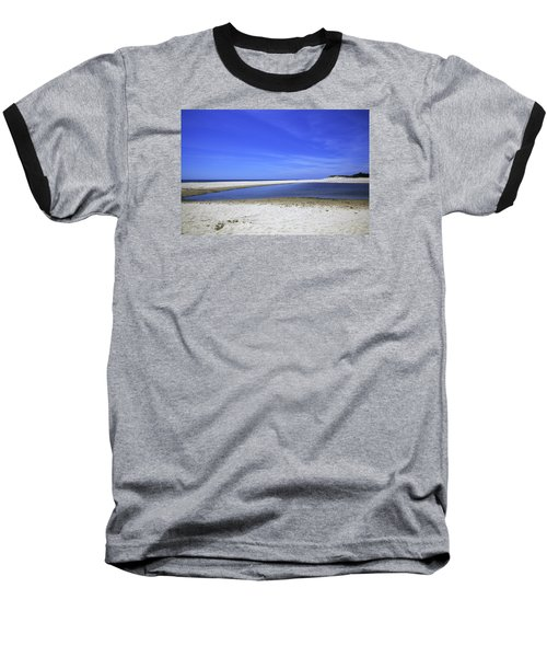Bridgehampton Sky Baseball T-Shirt by Madeline Ellis