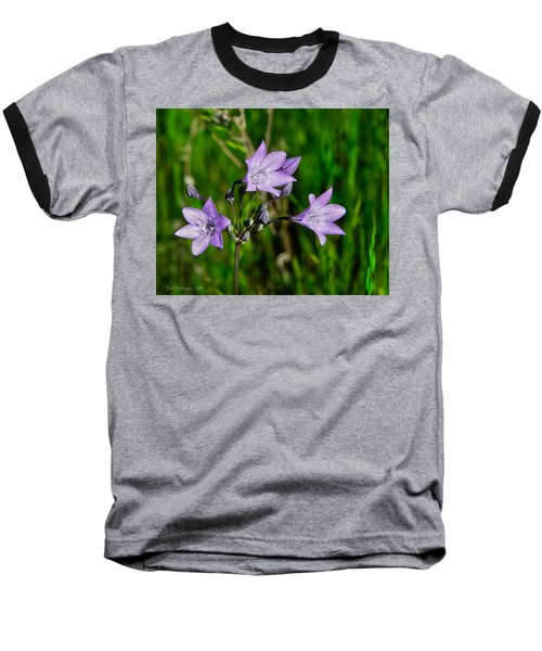 Baseball T-Shirt featuring the photograph Bridges' Triteleia by Jim Thompson
