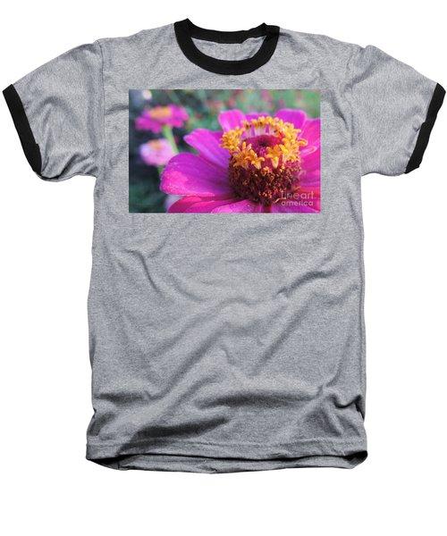 Bridgets Bloom Baseball T-Shirt by Robert ONeil