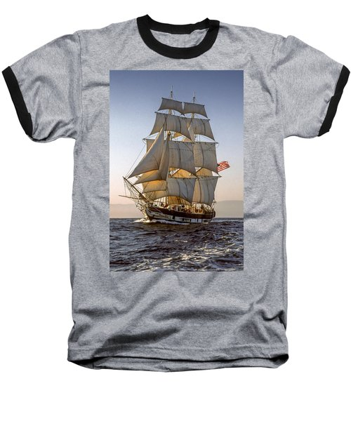 Brig Pilgrim Off Santa Barbara Baseball T-Shirt