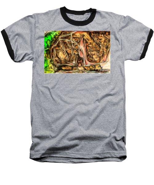 Bright Gloomy Roar Oar  Baseball T-Shirt