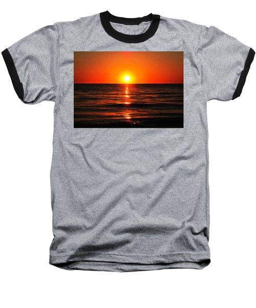 Bright Skies - Sunset Art By Sharon Cummings Baseball T-Shirt