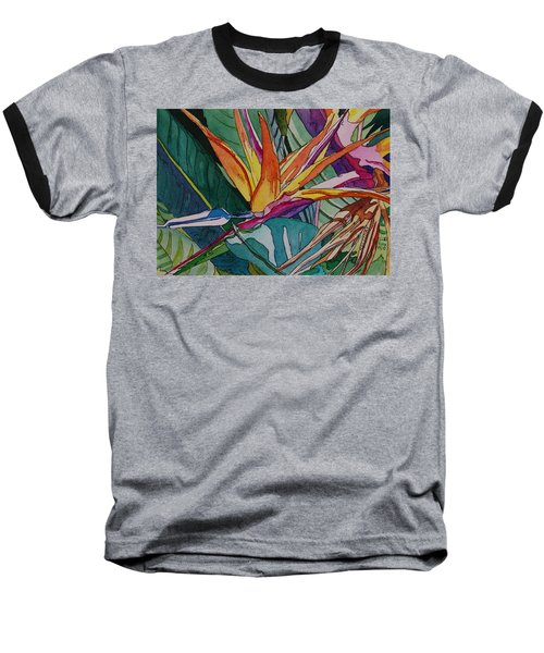 Brillant Bird Of Paradise Baseball T-Shirt