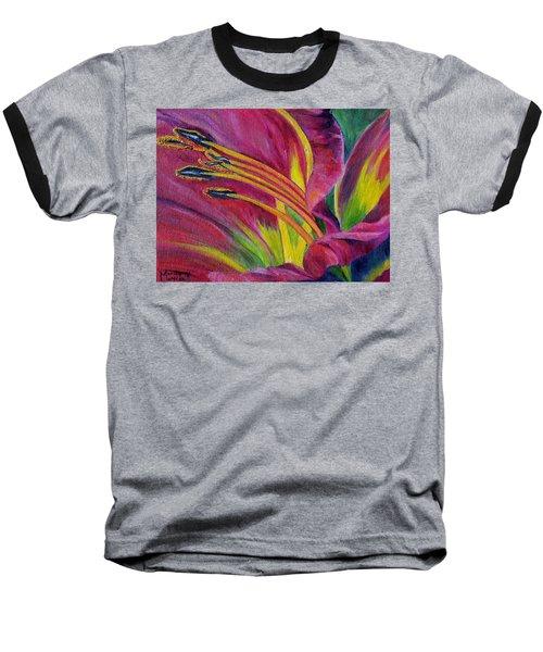 Brilliance Within Baseball T-Shirt by Marilyn  McNish