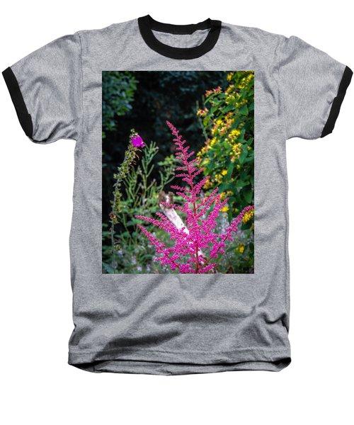 Brilliant Astilbe In Markree Castle Gardens Baseball T-Shirt