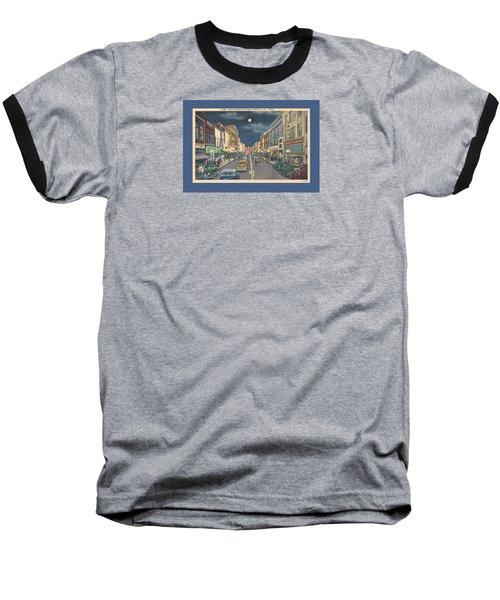 Bristol At Night In The 1940's Baseball T-Shirt